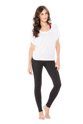 Versa Tee in White | Body Language at Fire and Shine | Womens tops