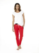 Strike it pants poppy red/chocolate | Wellicious at Fire and Shine | Womens pants