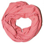 Candy Cane Infinity scarf | Borelli at Fire and Shine | Women's Accessories