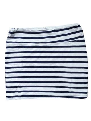 Slub Stripe Mini Skirt | Sundry at Fire and Shine | Womens