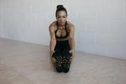 Black Leopard Metallic Non-Slip Socks | Move Active at Fire and Shine | Accessories