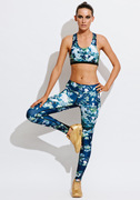 Active Cross Over Crop   We Are Handsome at Fire and Shine   Womens Crops