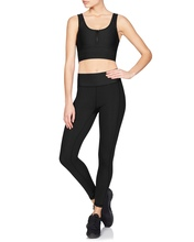 Kara Bra with Black Mesh | Vie Active at Fire and Shine | Womens Crops