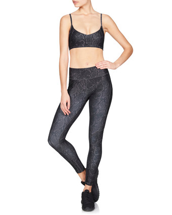 Mia Bralette Python | Vie Active at Fire and Shine | Womens Crops