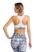 Claudia Bra in Snakeskin | Nux at Fire and Shine | Womens Crops