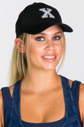 X Baseball Cap | First Base at Fire and Shine | Womens Accessories