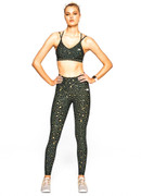 Fight Club Leggings | Running Bare at Fire and Shine | Womens Leggings