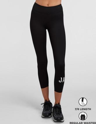 Jaggad Classic 7/8 Leggings - Black