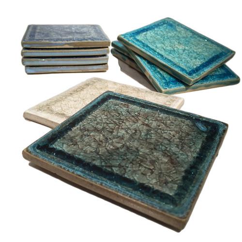 Square Glass Coasters