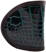 Black Friday Teal Croc Holster LAST ONE