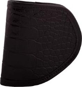Closeout Pretty dangerous - Black Croc Holster ONE LEFT
