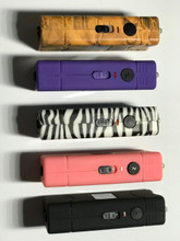 Color swatch showing Zebra and Camo (will come with black case)