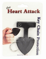 LOCKDOWN SALE Heart Attack Defensive Keychain