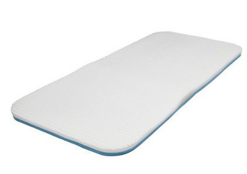 Memory Foam Mattress Topper with Extra Lumbar Support