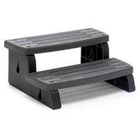 Waterway Spa Steps Charcoal Grey
