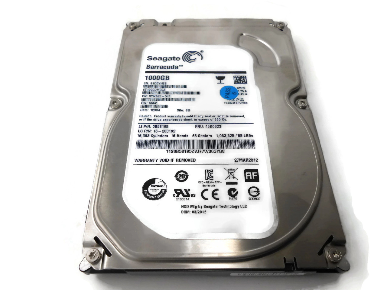 Lenovo ThinkCentre A30 Seagate Barracuda HDD Drivers for Windows XP