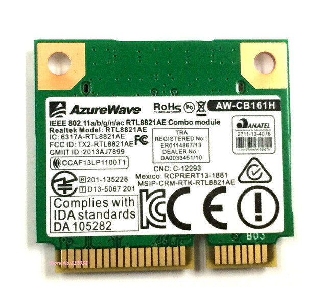 Asus A53 AzureWave AW-NE139H Wireless Card AW-NE139H - Notebookparts com