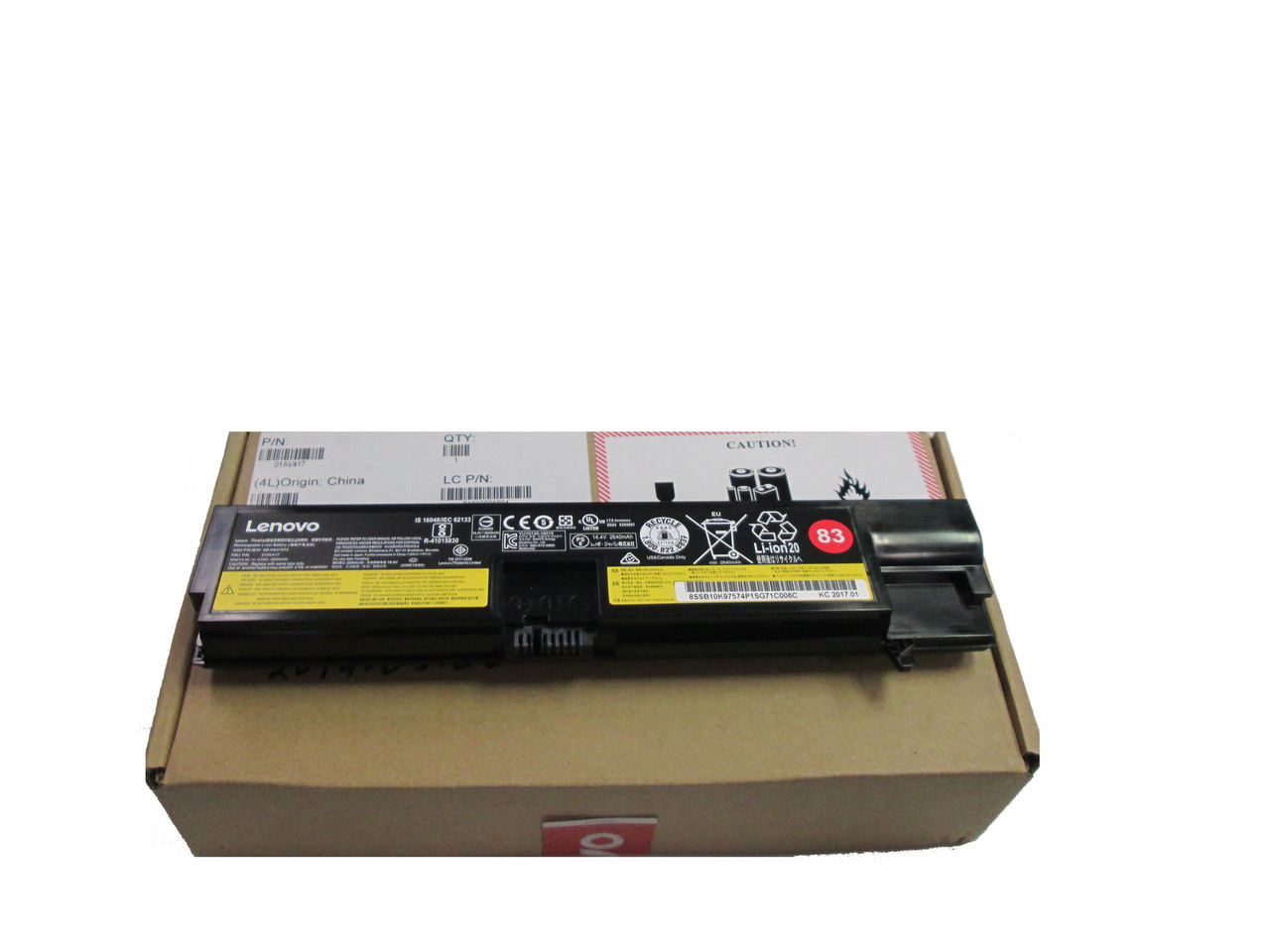 New Genuine Lenovo ThinkPad E570 E575 41Wh 4 Cell Battery