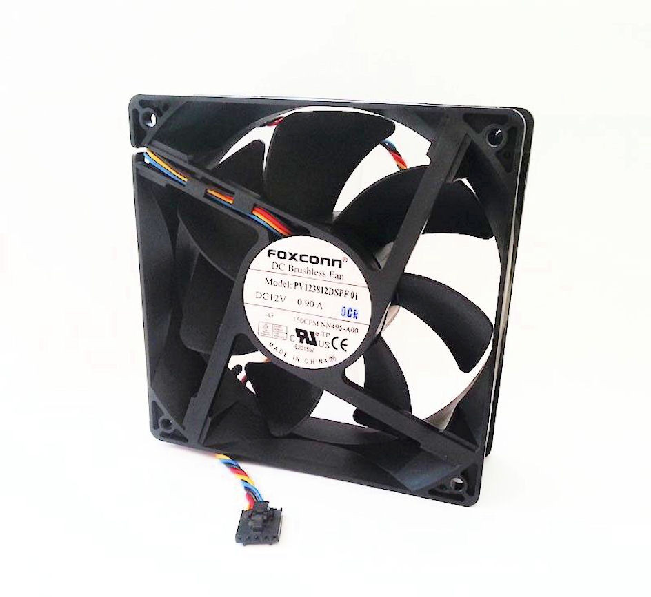 Dedicated Dell Hw856 Precision T3500 T5500 Dual System Fan Assembly Computer Components & Parts Computer Case Fans 0hw856