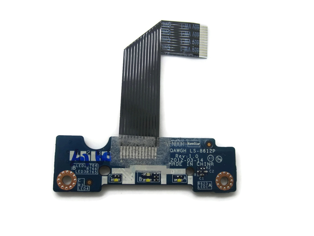 Lenovo N585 N580 Touchpad Mouse Button Board w// Cable LS-8612P NBX00015400