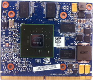HP NVIDIA GeForce GT230 1GB MXM Scorpius N10p Graphics Card 608545