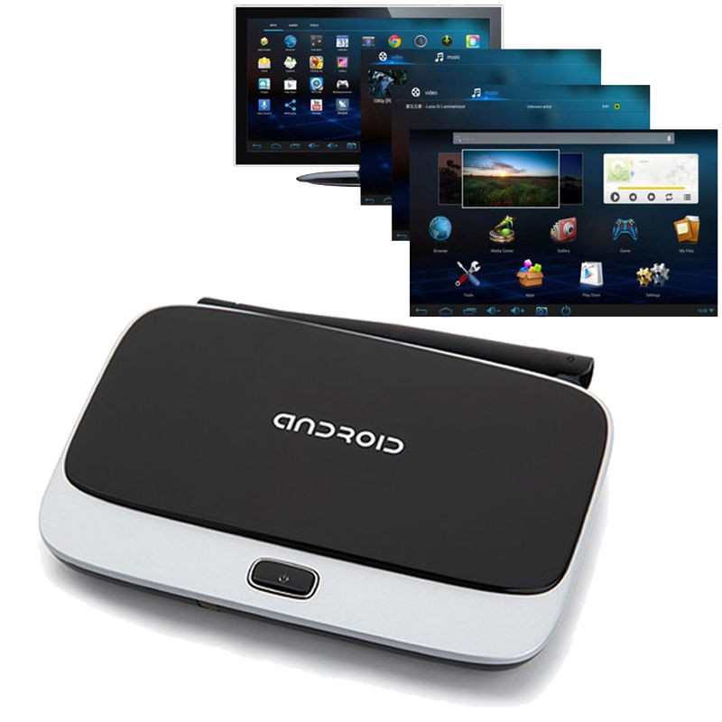 Quad Core Android 4 4 Smart TV Box XBMC WiFi Full 1080P Media Player