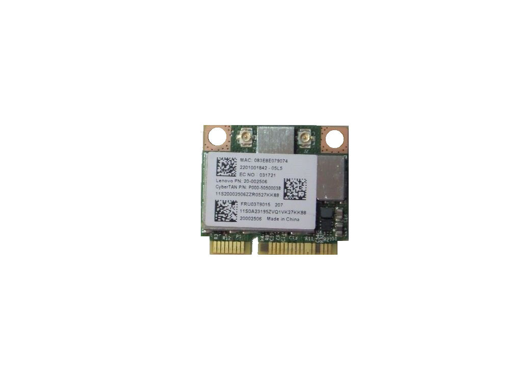 Lenovo ThinkPad T430 T430i WiFi Wireless Card 03T9015