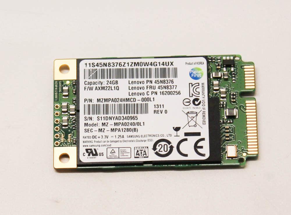 Lenovo ThinkPad T430, T430i SSD 24GB Samsung mSATA PM810-24