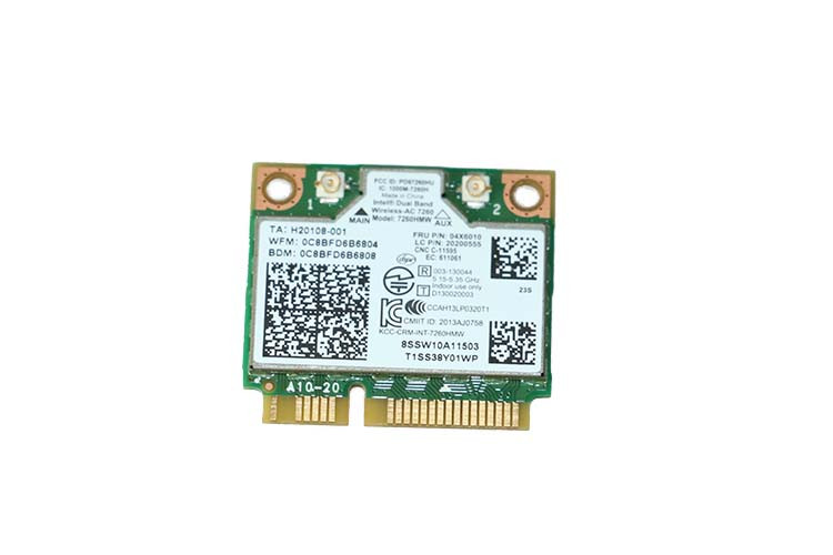 Lenovo ThinkPad X140e Intel Dual Band Wireless AC 7260 BT 4 0