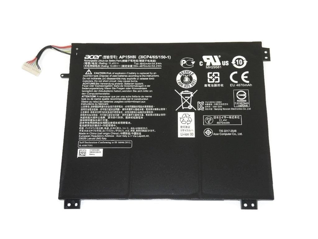 Acer Aspire One Cloudbook 14 AO1-431-C8G8 LCD Back Cover Front Bezel /& Hinges