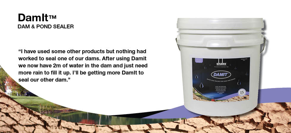 DamIt™ Dam & Pond Sealer
