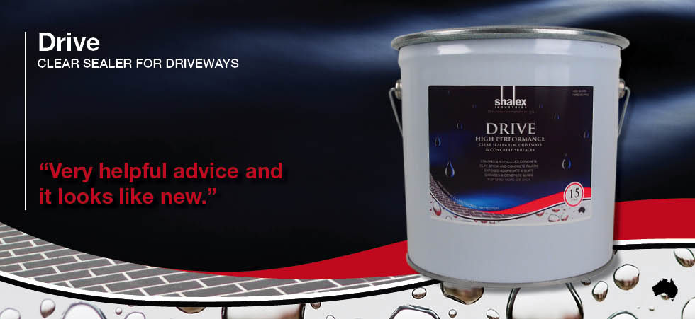 Drive Clear Sealer for Driveways