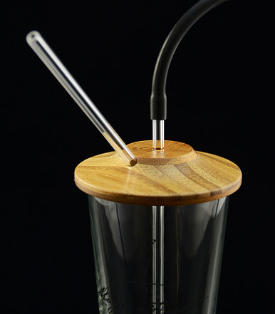 Turn any mug, glass or coffee mug into a water filtration device! Connects to your Launch Box and sip from the straw!