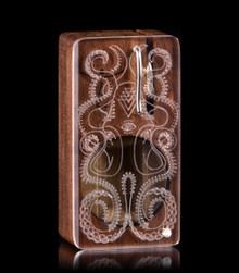 Rocktopus Launch Box in Premium Walnut - The world's best portable herbal vaporizer - Magic-Flight