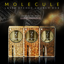 The line-up: Molecule Launch Box, by UK artist Matt Manson - Collaborations - Magic-Flight