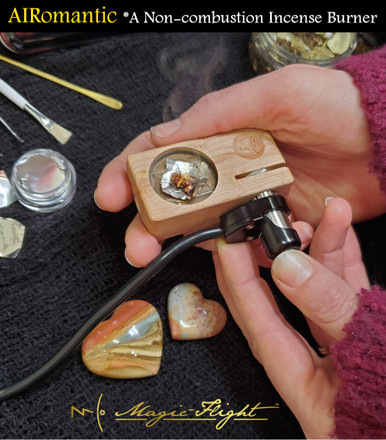 The AIRomantic: A Handheld, Non-combustion Incense Burner