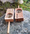 STAR GRID Launch Box ~ Maple [left],  Cherry [right]  (Wooden Stem sold separately)