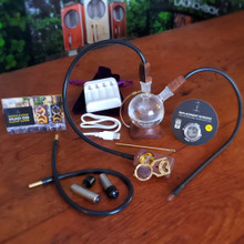 MED KIT :  MD Box (Walnut) with Flight Kit + Orbiter Water Filtration Device + Power Up 3.0 with wall adapter and car charger + 3 Pack Replacement Screens