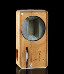 Premium Cherry Launch Box - front view- The world's best portable herbal vaporizer ~Magic-Flight