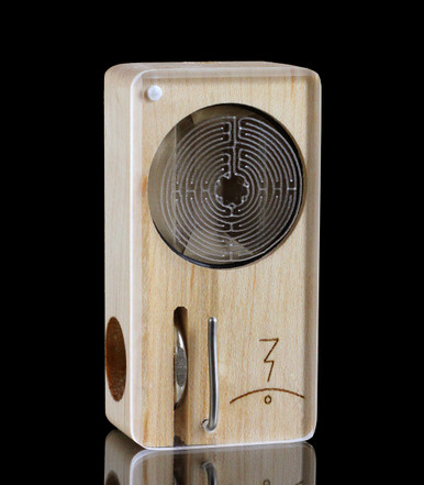 Labyrinth Laser Launch Box in Original Maple - The world's best portable herbal vaporizer - Magic-Flight