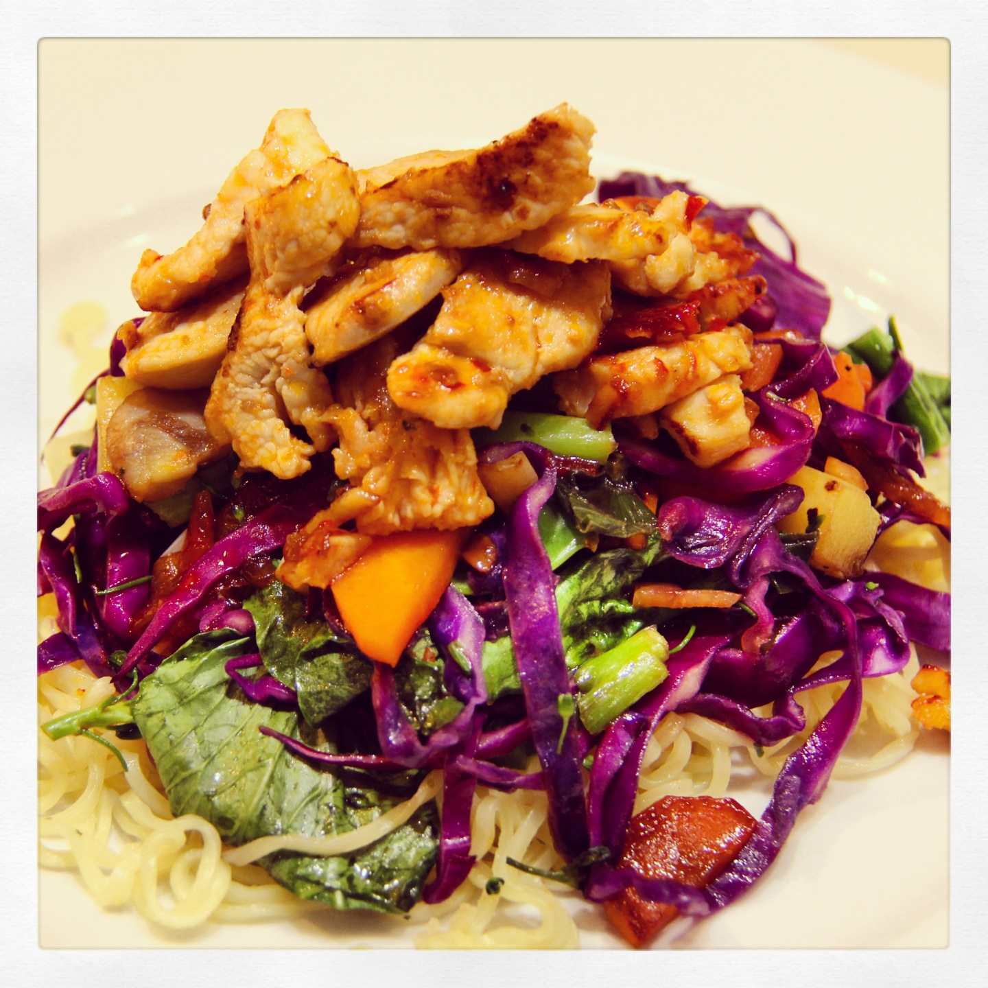 Chicken Chilli Onion and Cashew Stir Fry