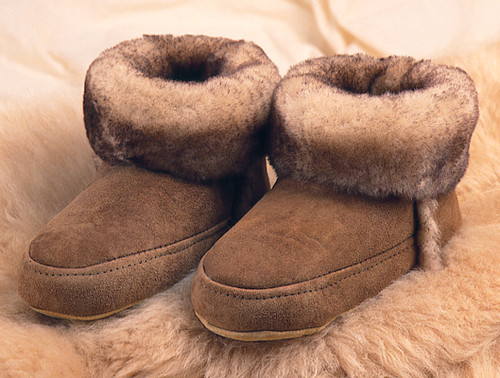 Sheepskin Cabin Slippers