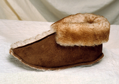 Soft Sole Sheepskin Boot Slippers