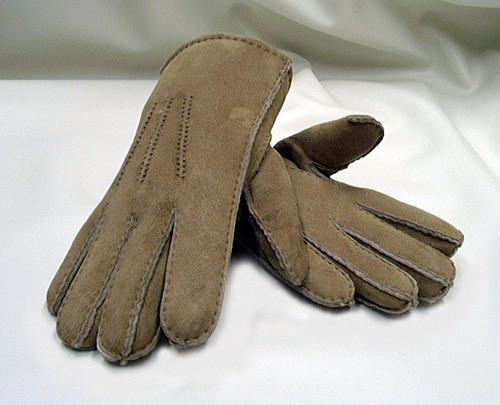 Designer Sheepskin Fur Gloves