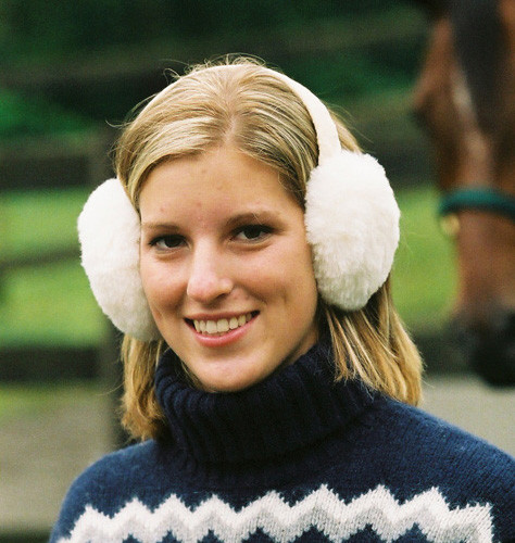 Sheepskin Fur Ear Muffs