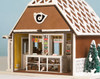 1:48 Gingerbread Post Office Interior Kit