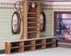 quarter scale bakery shelves