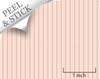 Bouquet Stripe, Pink. 1:48 quarter scale peel and stick wallpaper