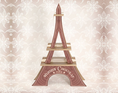 Large Chocolate Eiffel Tower
