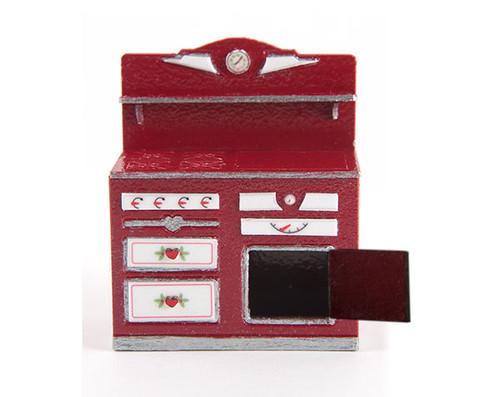 Quarter scale, vintage style stove.